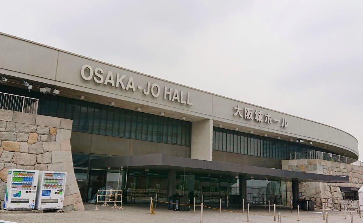 大阪 ホール キムタク 城