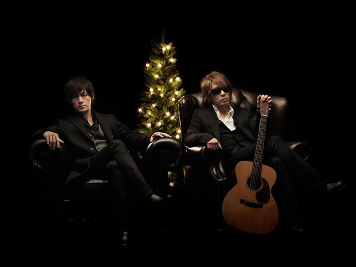 B'zのクリスマス宣材写真
