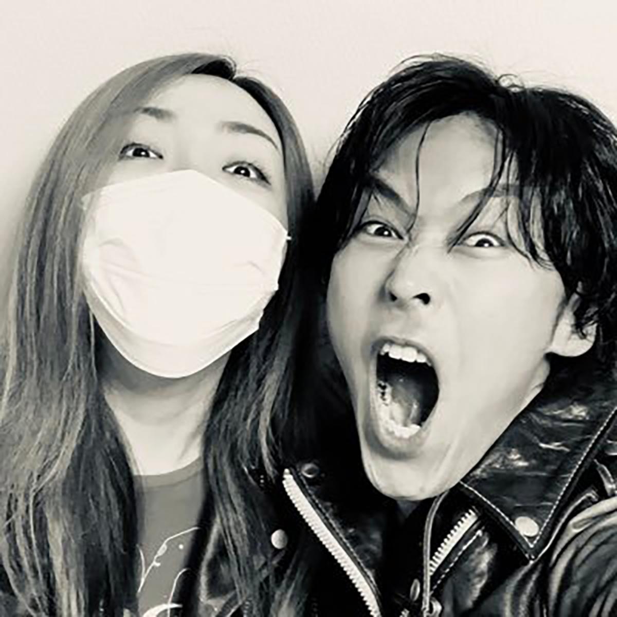 B'z大好きYouTuber・KAZさん&ちゃんみゆさんの写真