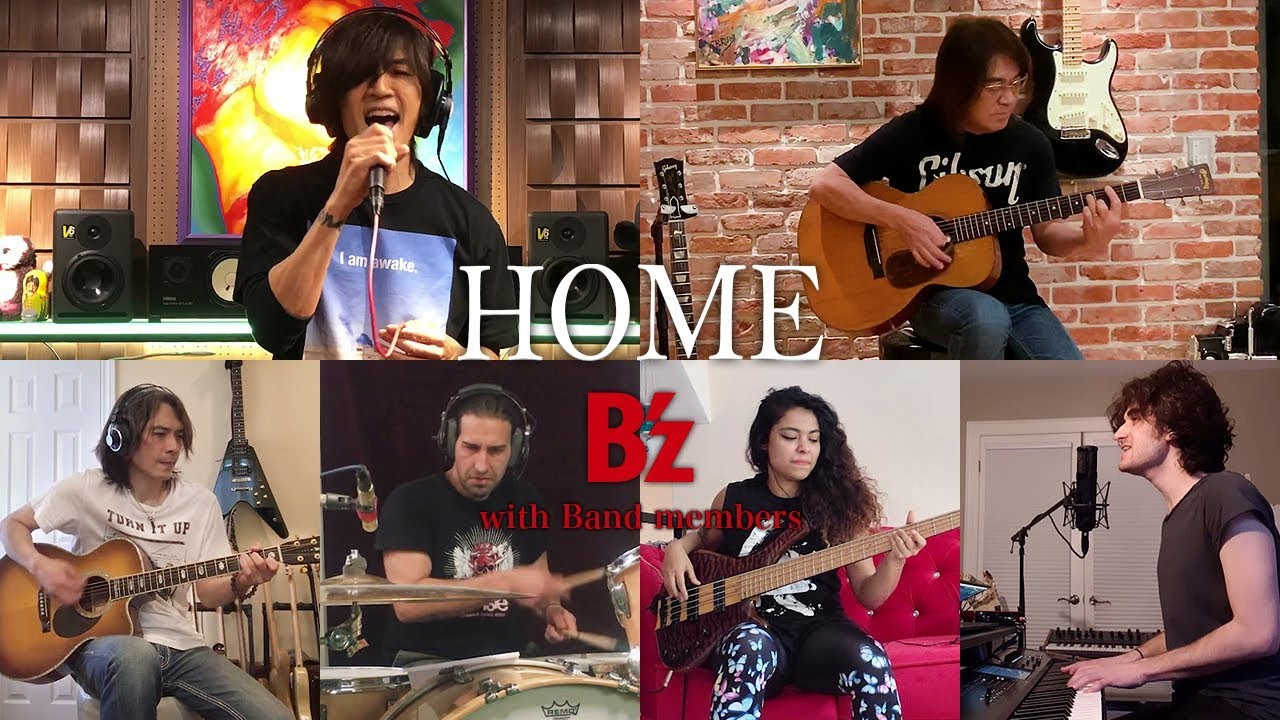 """『B'z """"HOME"""" Band session』のサムネイル画像"""
