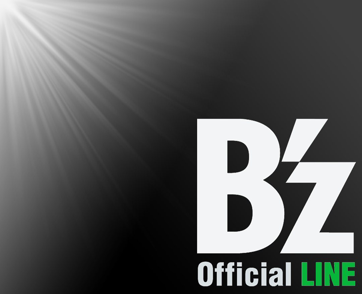 B'z公式LINEの告知に使用された画像
