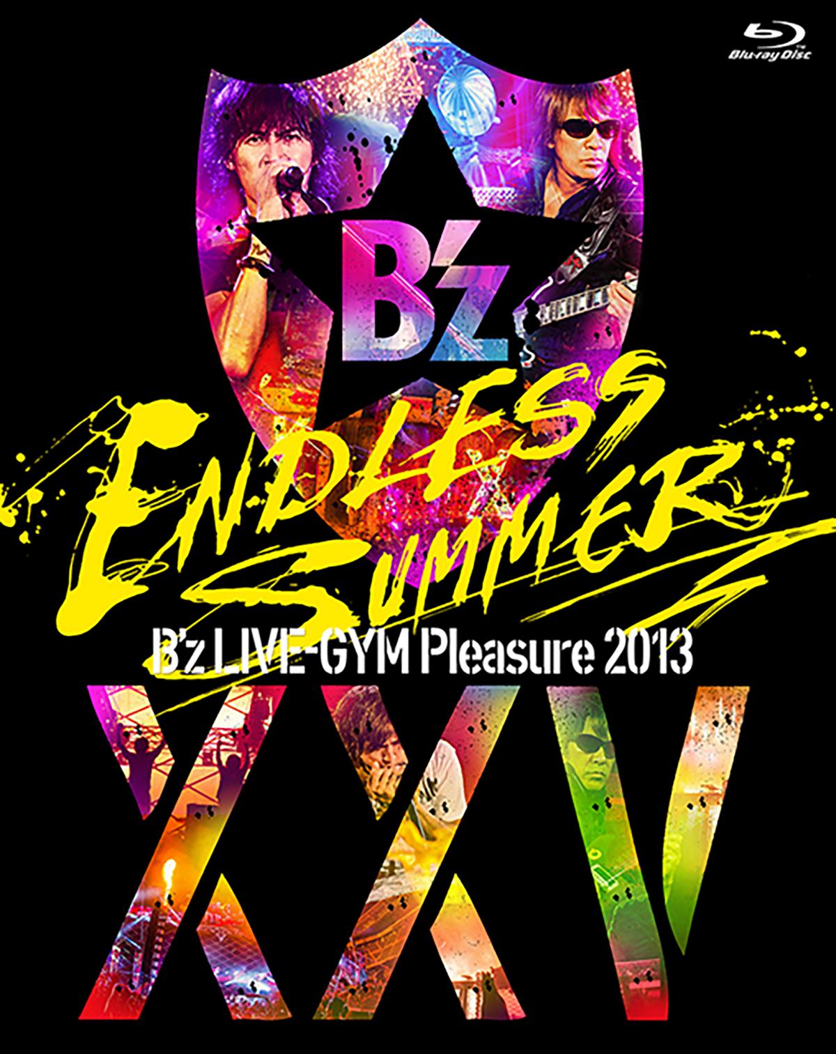 DVD&Blu-ray『B'z LIVE-GYM Pleasure 2013 -ENDLESS SUMMER-』のジャケット画像