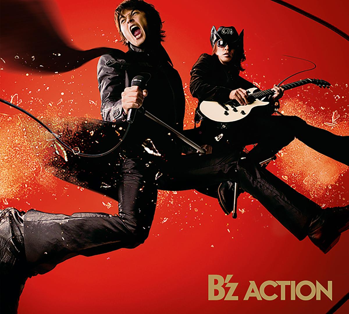 B'z 16th ALBUM『ACTION』のジャケット画像