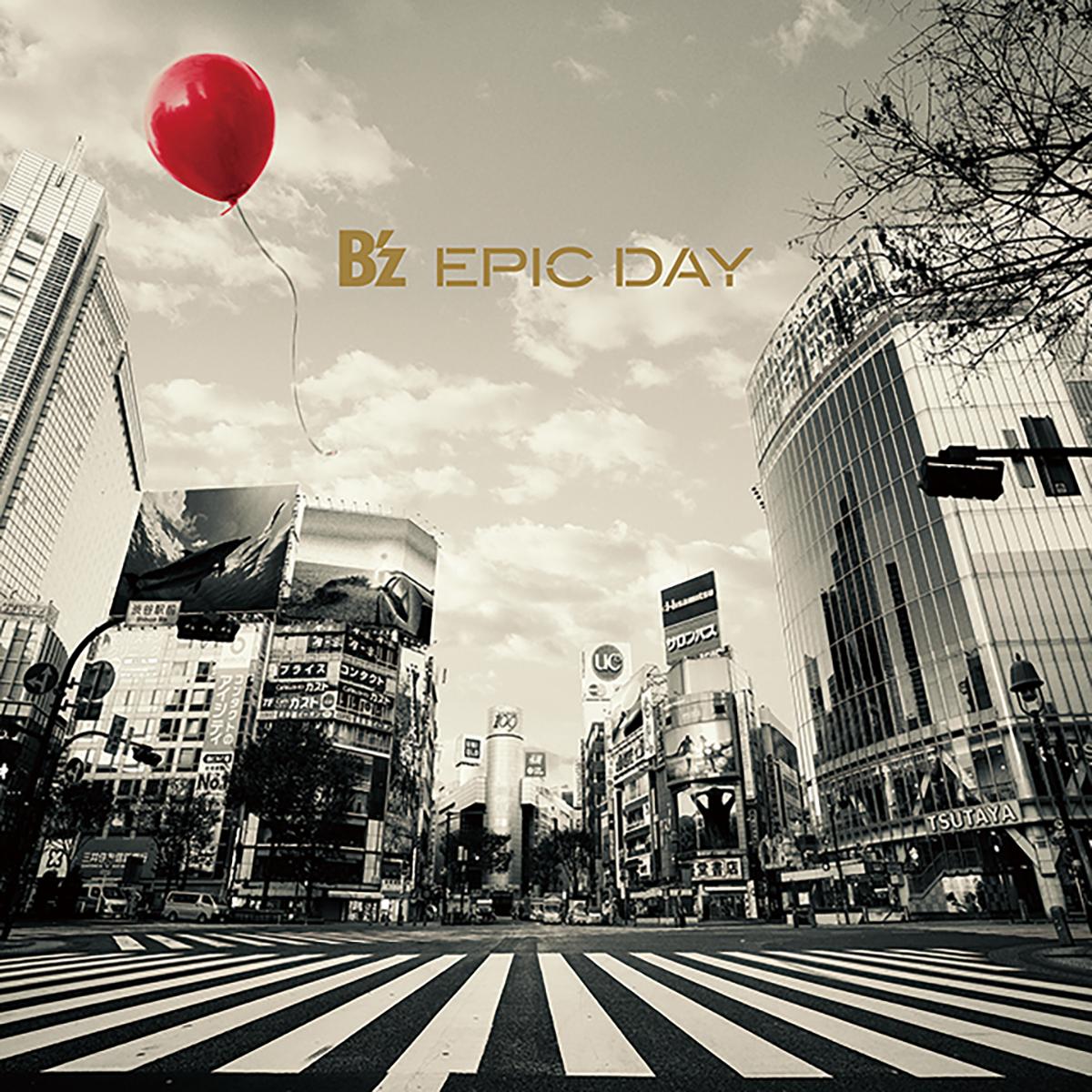 B'z 19th ALBUM『EPIC DAY』のジャケット画像