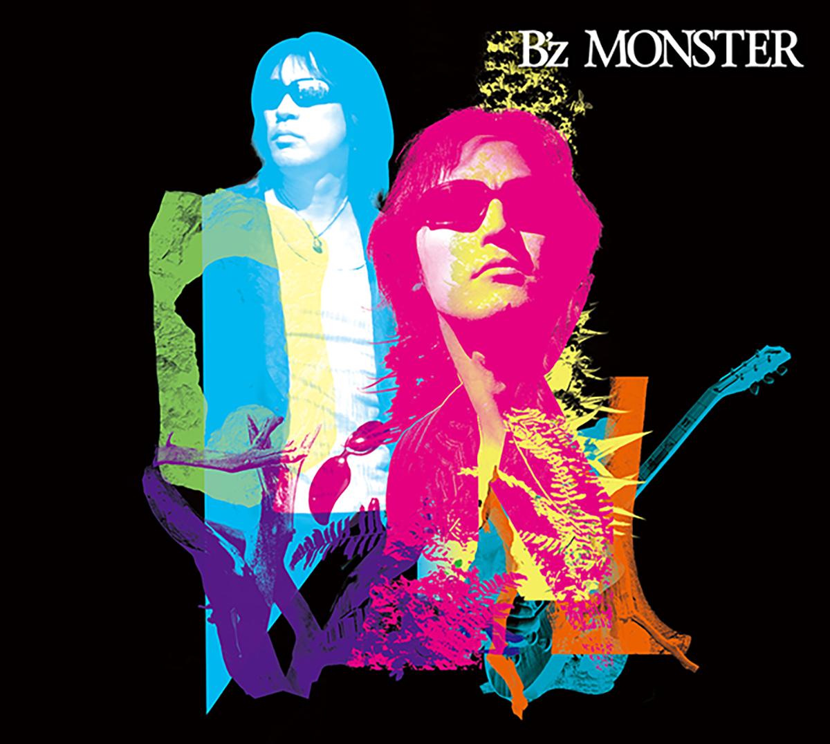 B'z 15th ALBUM『MONSTER』のジャケット画像
