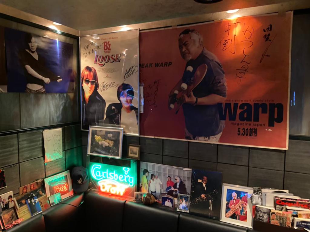 酒場「田賀」の店内の写真