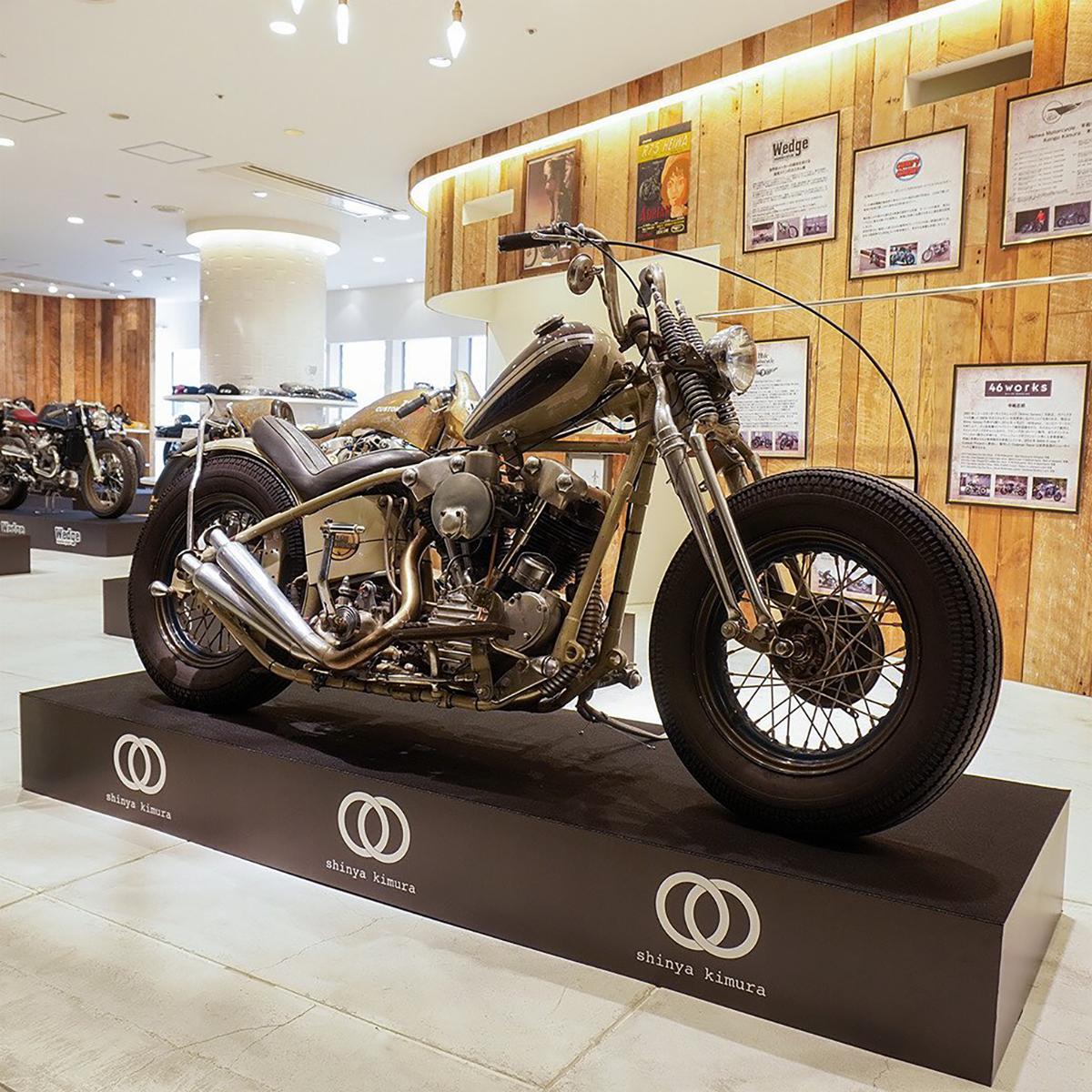 稲葉浩志所有の「1939 Harley-Davidson EL」(通称:ナックルヘッド)