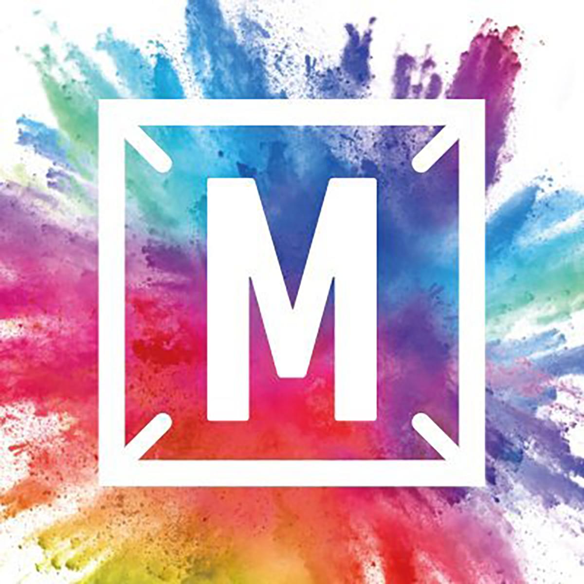 「ミュージックステーション」のロゴマーク