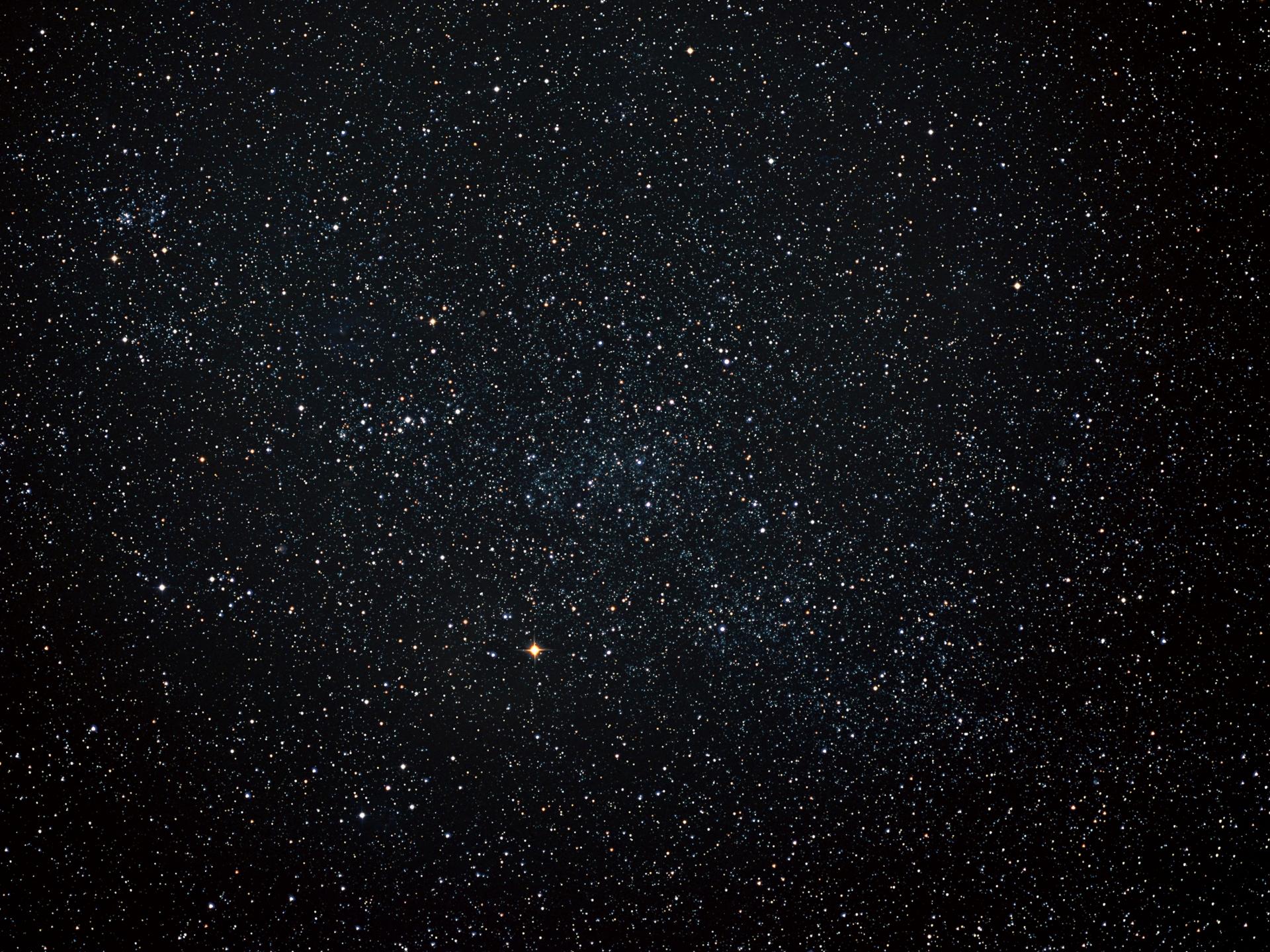 星空のフリー写真