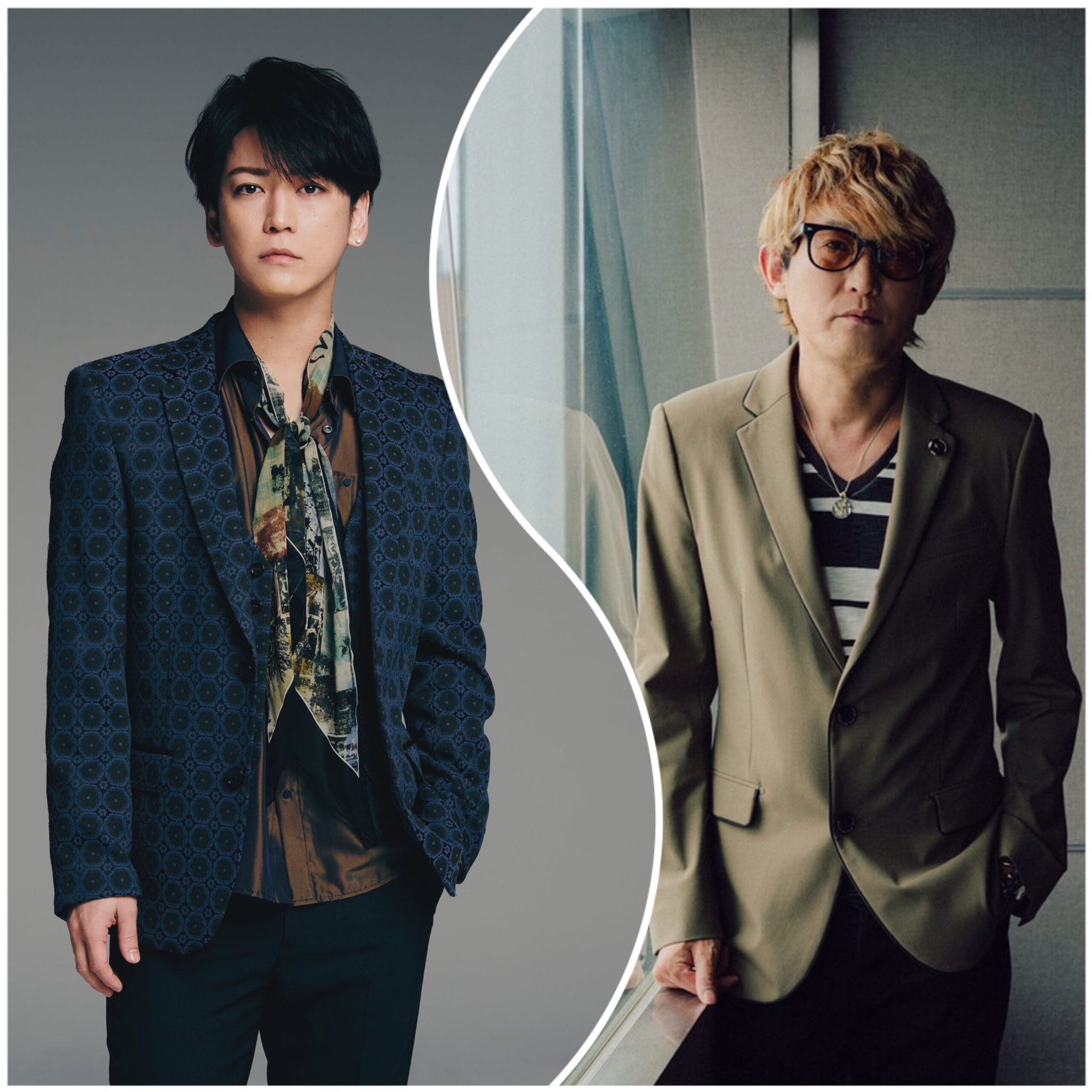 『Mercedes-Benz THE EXPERIENCE』に出演した亀梨和也とスガシカオ