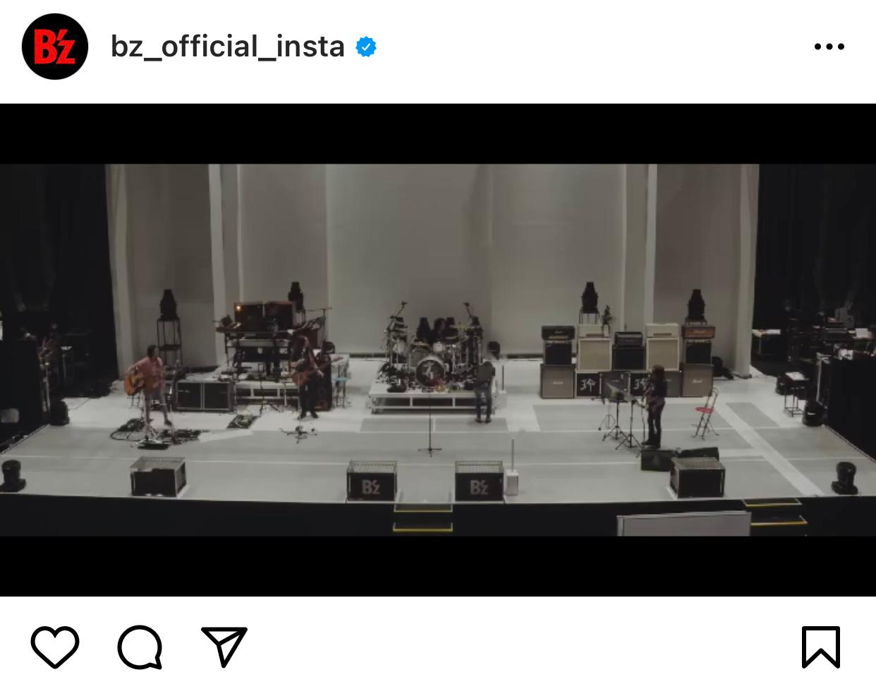 B'zが公式SNSで公開したコンプリートボックス収録の「Day4」ドキュメンタリーダイジェスト映像