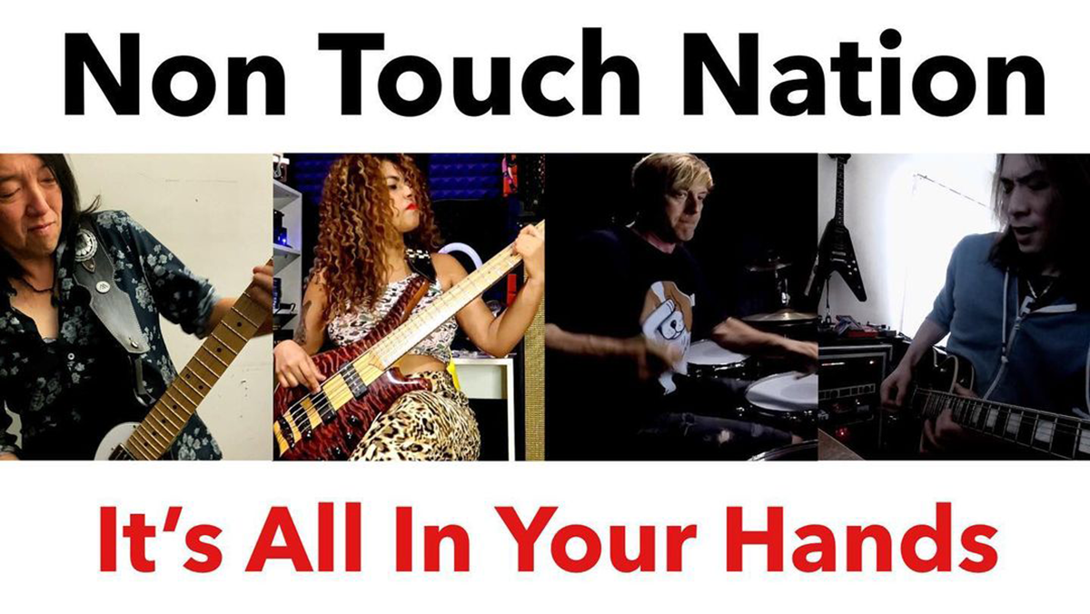 Non Touch Nation「It's All In Your Hands」の画像