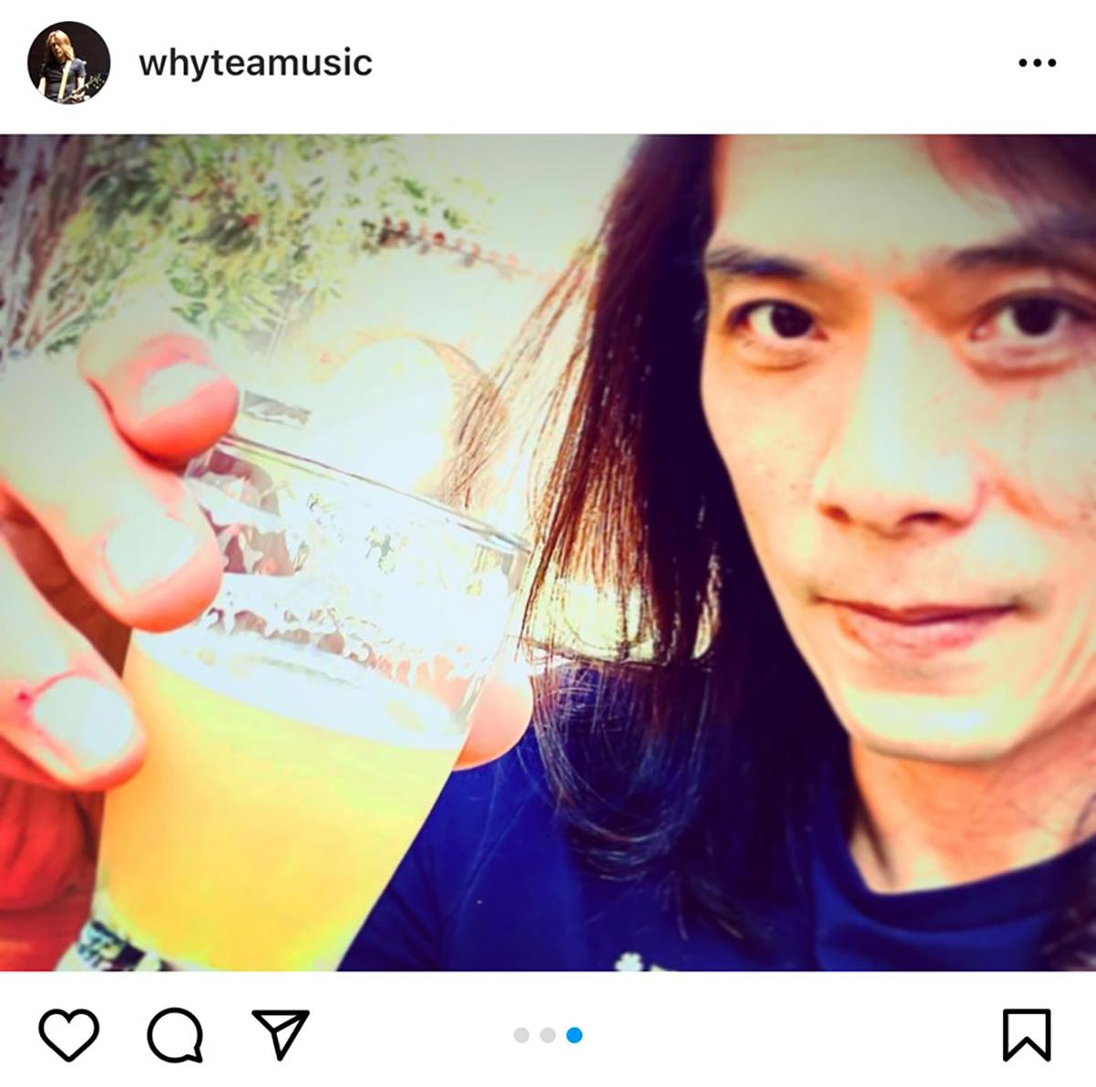 """B'zサポートメンバー&アレンジャー・Yukihide """"YT"""" Takiyamaが誕生日を迎えた時の写真"""