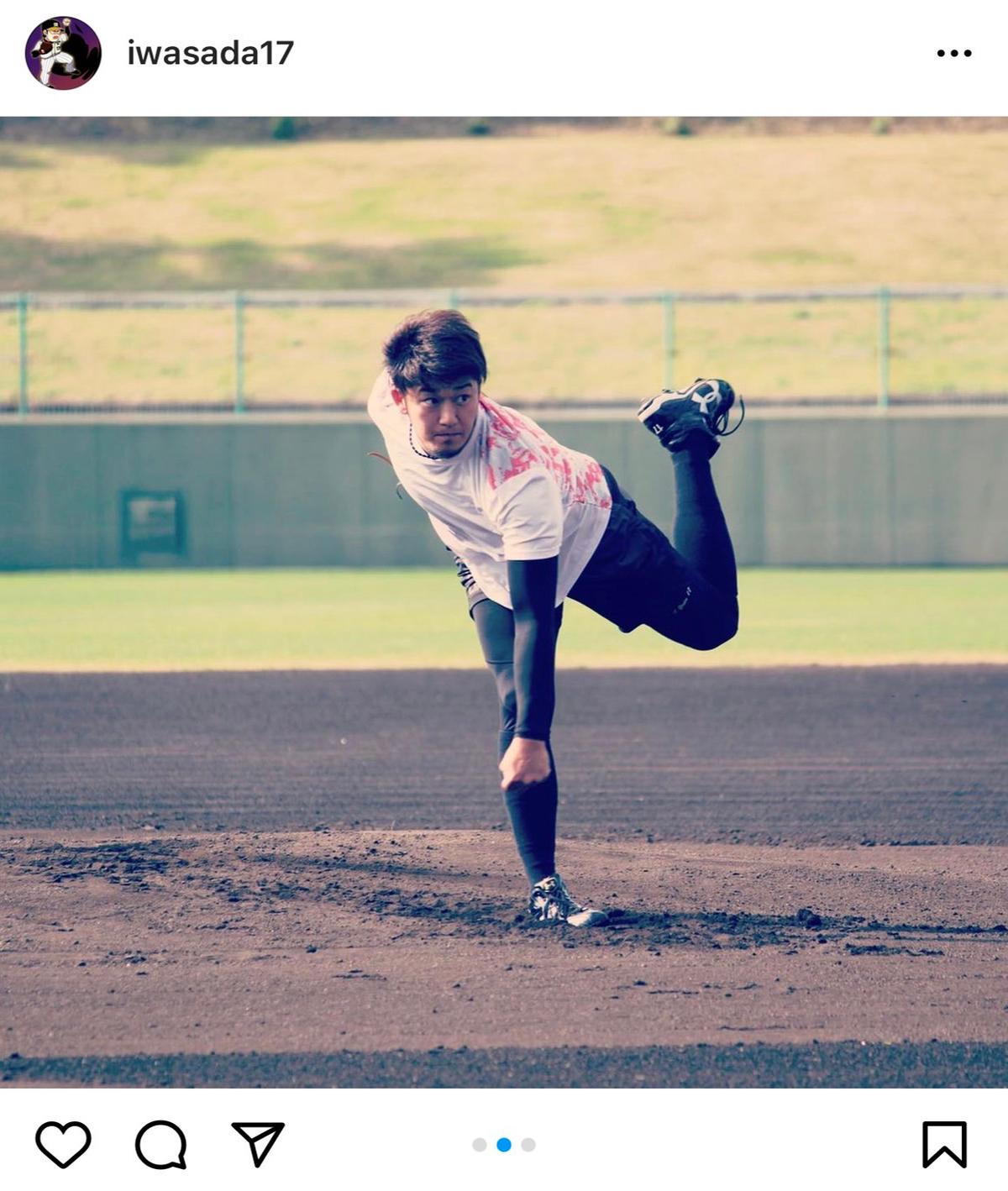 B'z「イチブトゼンブ」と登場曲にした阪神・岩貞祐太投手の写真
