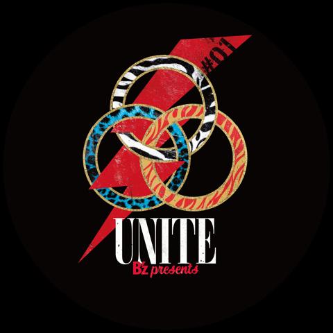『B'z presents UNITE #01』でプレゼントされるドラムヘッド(黒)